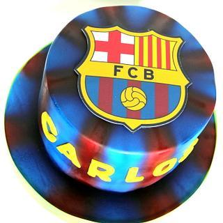 Tarta Escudo Barça