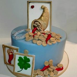 Good Luck - Cake by manuela scala