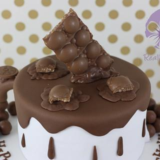 Chocolate and chocolate cake! - Cake by Really Yummy