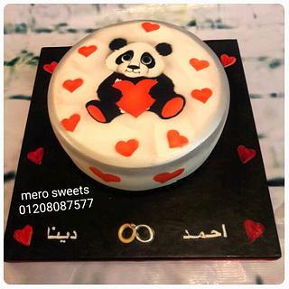 Panda cake