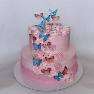 Butterfly cake - Cake by Dijana