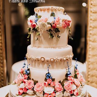 Maddy Wedding Cake