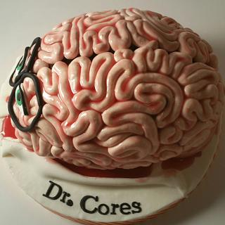 BRAIN CAKE FOR A Dr.