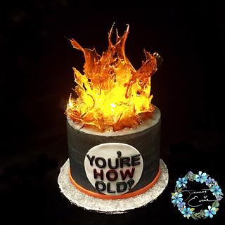 Light up cake
