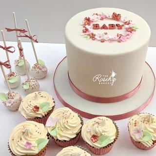 Rose Gold and Pastels Baby Shower