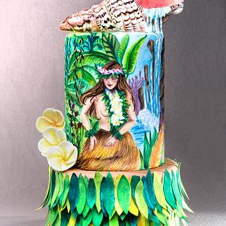 Cake Hula Dance-Music Around the World 2017 Collab