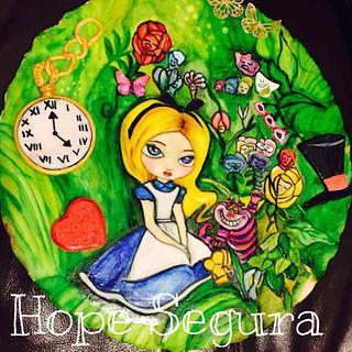 Alice in Wonderland  - Cake by Hope Segura