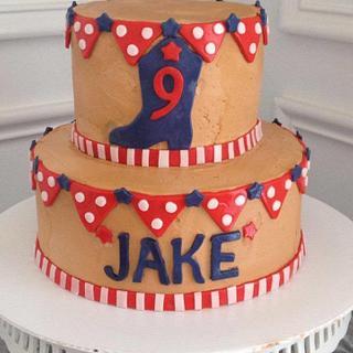 Boy Birthday Cake!