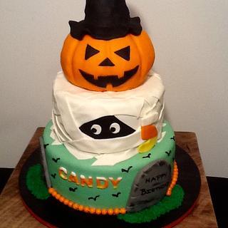Halloween cake - Cake by John Flannery