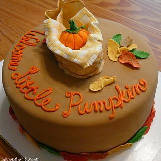 Welcome Little Pumpkin
