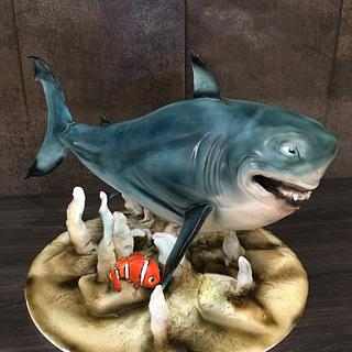 Bruce and Nemo Cake