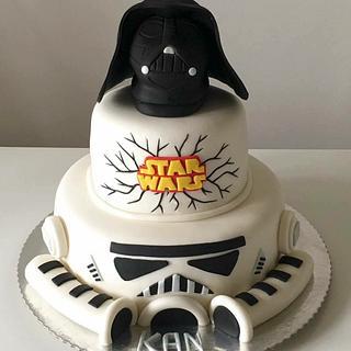 Star War Cake - Cake by TorteTortice