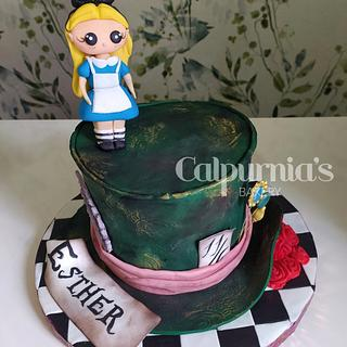 Alice in wonderland - Cake by Calpurnia's bakery