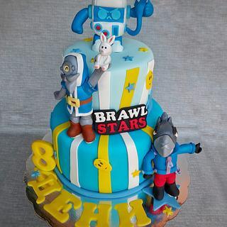 Brawl Stars - Cake by tanita_al