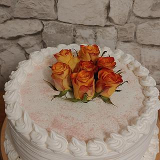Blumen torte, Schokotorte, Minnie torte - Cake by Christina