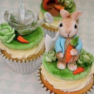 Peter Rabbit Cupcakes