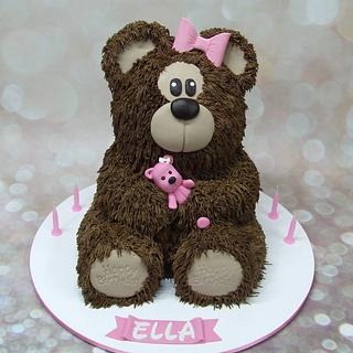 Ella's bear cake!
