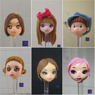 Fondant Figurines - Cake by Ms. V