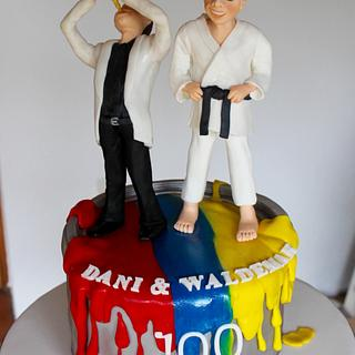 cake for father and son
