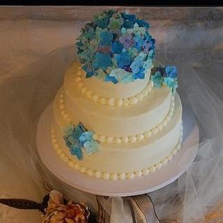 Best Friend's Wedding Cake - Cake by CakesbyMayra