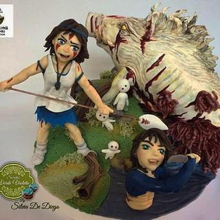 Studio ghibli collaboration princess mononoke