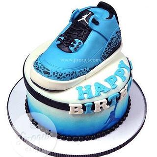 Jordan Shoes Cake - Cake by Kay