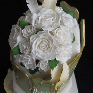 Deco Rose - Cake by Peboryon