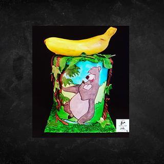 Painting cake Baloo
