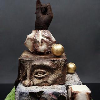 Pompei Chocolate Cake
