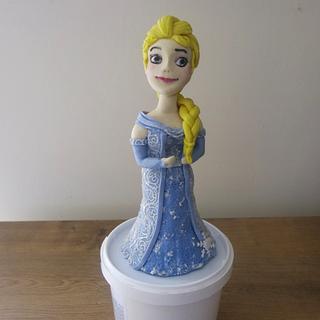 Elsa Doll Topper