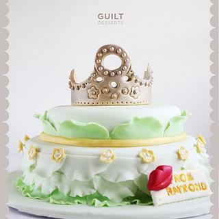 Pretty Tiara Cake