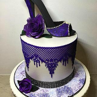Krystal love - Cake by Grans Cakes