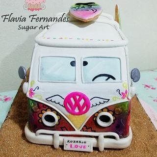 COMBIE HIPPIE  - Cake by Flavia Fernandes