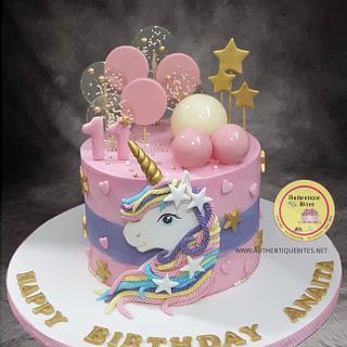 Dreamy Unicorn Cake - Cake by Authentique Bites by Ekta & Nekta
