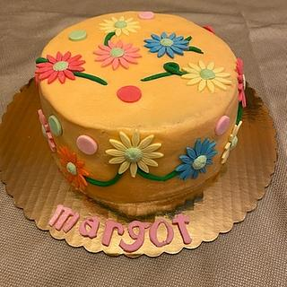 DAISIES FOR MY BFF - Cake by Julia