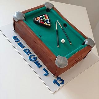 Billiard sweet table - Cake by TORTESANJAVISEGRAD