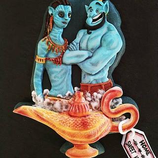 Neytiri and Genie