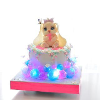 bunny cake - Cake by OxanaS