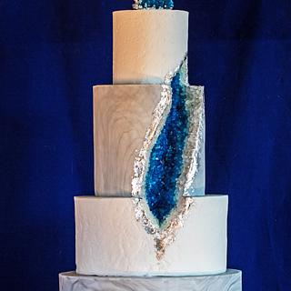 Geode cake  - Cake by Teraza @ T's all occasion cakes