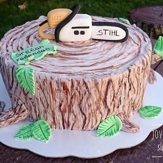 Woodpecker cake - Cake by Jovaninislatkisi