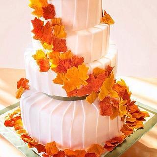Fall cake  - Cake by JenStirk