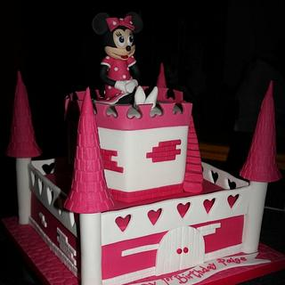 Hot Pink and Girly - Cake by Stef and Carla (Simple Wish Cakes)