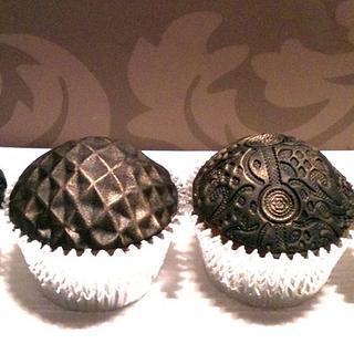 Embossed Cupcakes