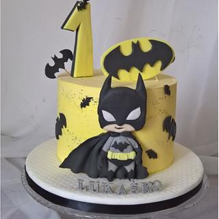 Cute batman cake