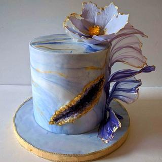 Color purple! - Cake by Mariyana
