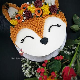 Autumn/Fall Cake - Cake by Maria's