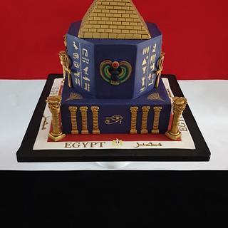Egypt Cake - Cake by Amal