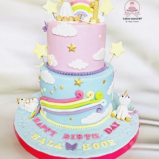 Birthday Unicorn cake
