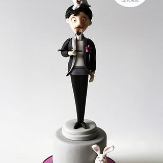 The Magician - Cake by Etty