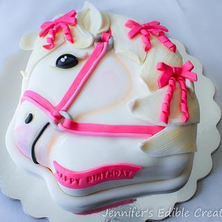 Girly Horse Cake